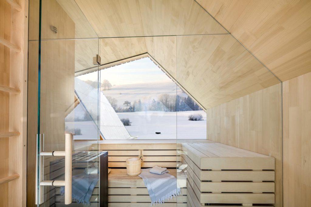 Loxone Sauna Malerwein